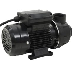 vidaXL Poolpump svart 0,25 HK 7500 L/tim
