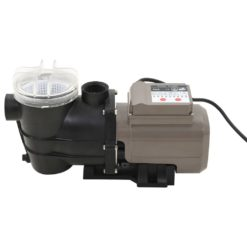 vidaXL Poolpump svart 0,25 HK 8000 L/tim