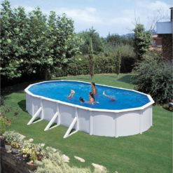 KWAD Pool Steely Deluxe oval 7,3×3,6×1,2 m