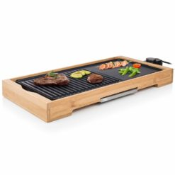 Tristar Bordsgrill i bambu BP-2641 2200 W 51×25,4 cm